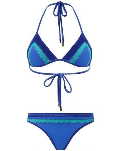 Синий купальник раздельный Tom Ford