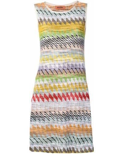 Платье с узором расклешенное Missoni