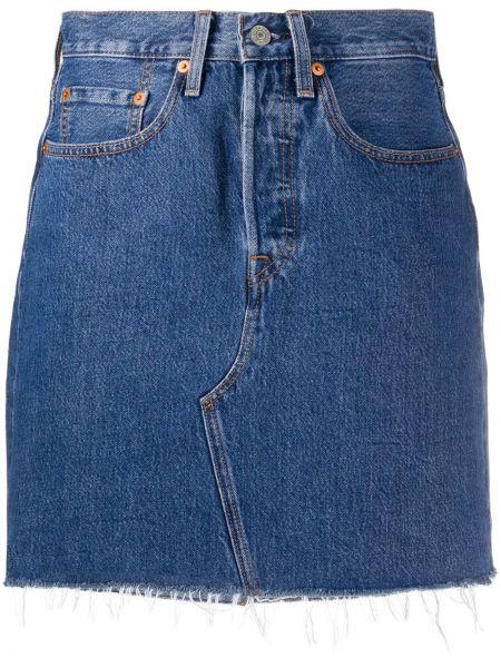 Юбка мини кожаная джинсовая Levi's®