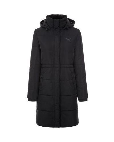 Утепленная куртка с капюшоном длинная Puma