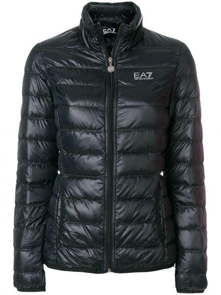 Куртка черная Ea7 Emporio Armani