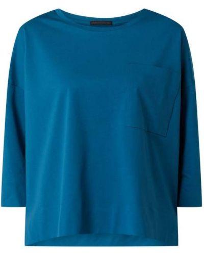 Bluzka bawełniana - turkusowa Drykorn