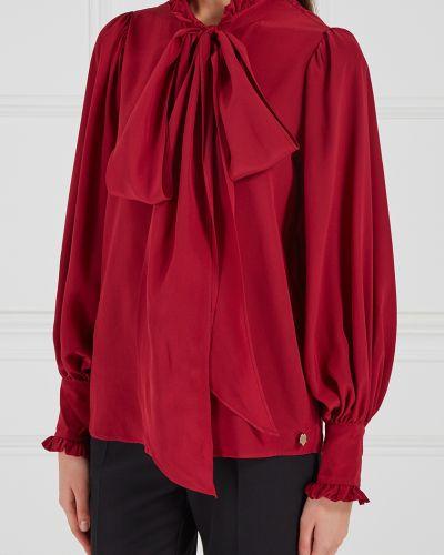 Шелковая блузка - красная Akhmadullina Dreams