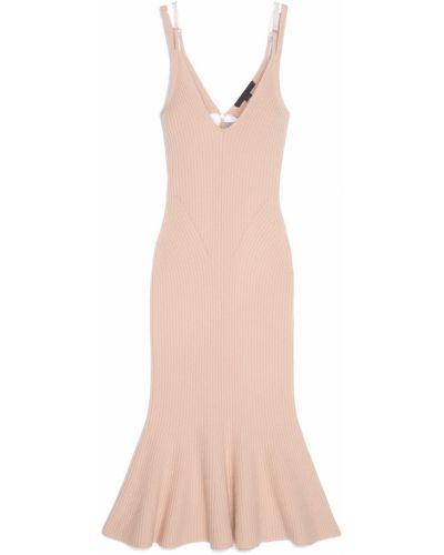 Платье миди облегающее с декольте Alexander Wang