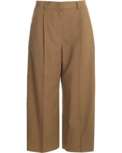 Brązowe spodnie Sacai