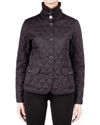 Черная куртка Burberry