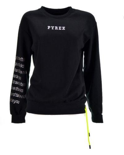 Czarny sweter Pyrex