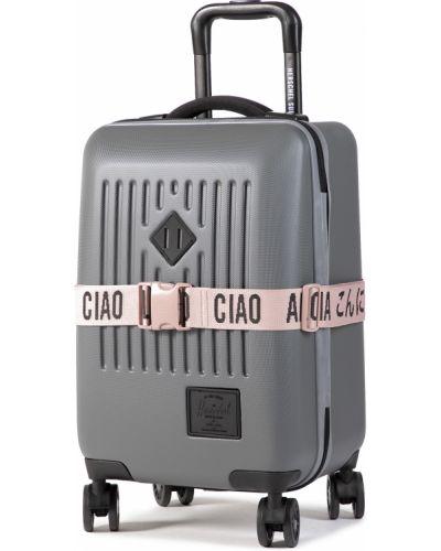 Szara walizka Herschel