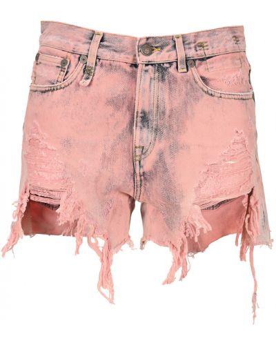 Różowe mom jeans R13