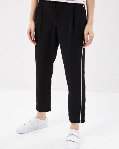 Черные брюки прямые Topshop