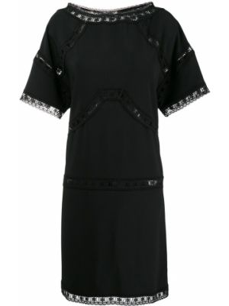 Вечернее платье со вставками модерн Dsquared2