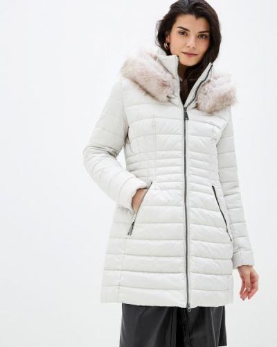 Бежевая утепленная куртка Betty Barclay