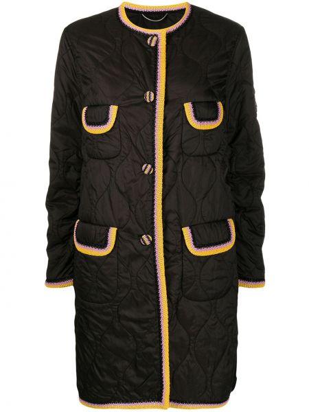 Pikowana płaszcz długi zapinane na guziki Ermanno Scervino