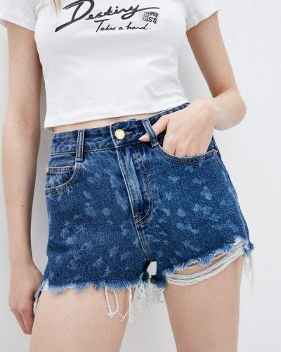 Синие джинсовые шорты Miss Sixty