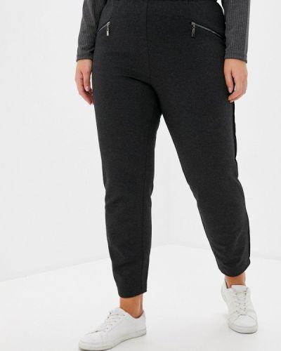 Серые зауженные брюки Intikoma