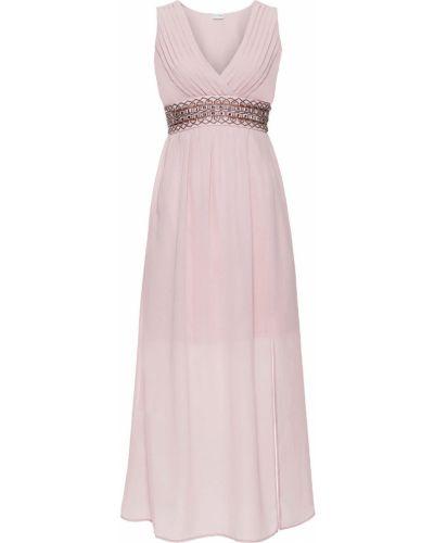 Вечернее платье шифоновое миди Bonprix