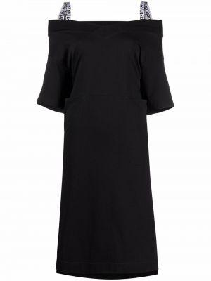 Черное прямое платье Diesel
