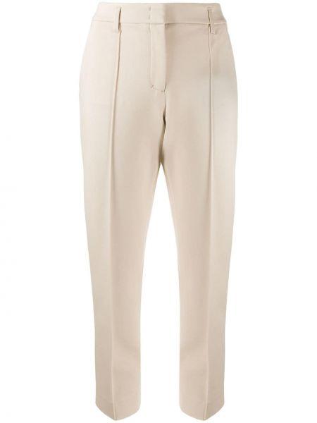 Брючные бежевые брюки с карманами Dorothee Schumacher