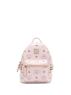 Рюкзак с карманами - розовый Mcm