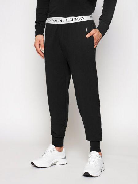 Spodnie - czarne Polo Ralph Lauren