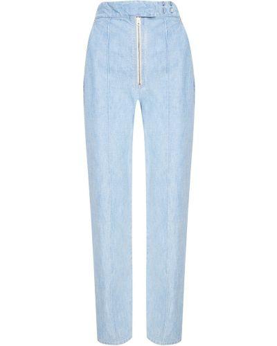 Укороченные джинсы со стрелками Isabel Marant