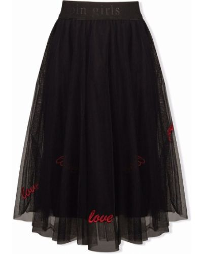 Długa spódnica tiulowa - czarna Lapin House