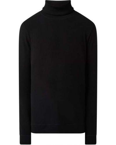 Czarny sweter bawełniany Denham