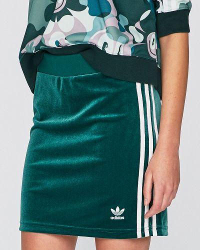 Юбка мини на резинке облегающая Adidas Originals
