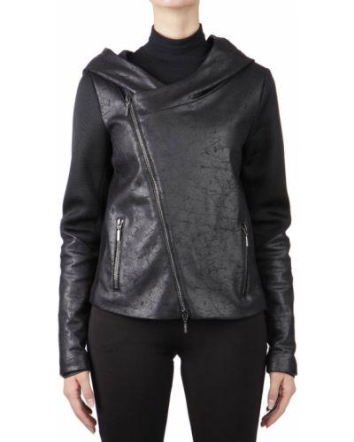 Куртка осенняя черная Plein Sud