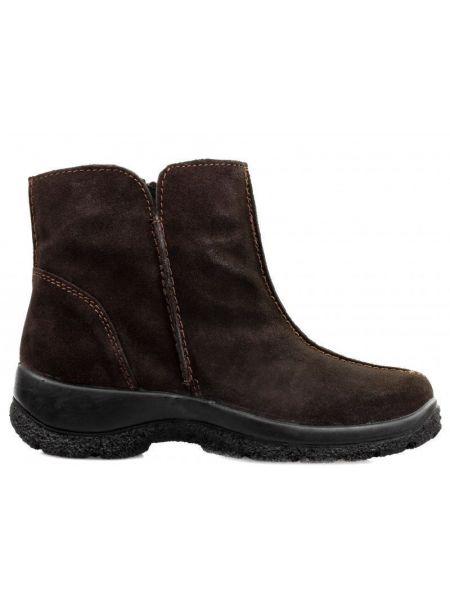 Ботинки с мехом - коричневые Gunter