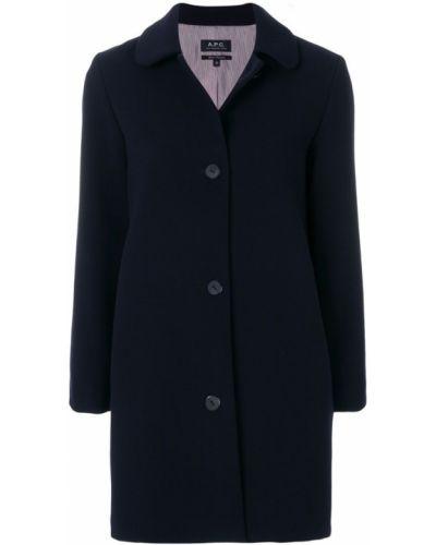 Пальто классическое с воротником с карманами A.p.c.