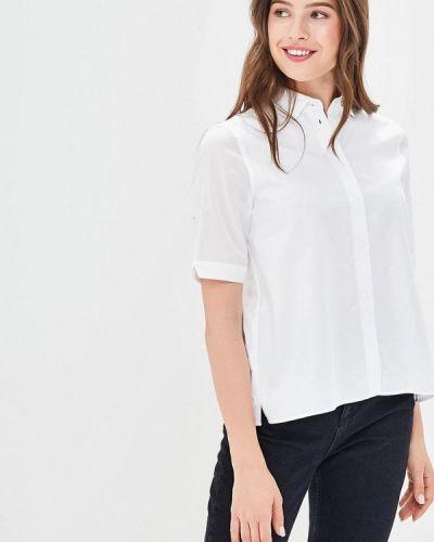 Белая рубашка с коротким рукавом Fred Perry
