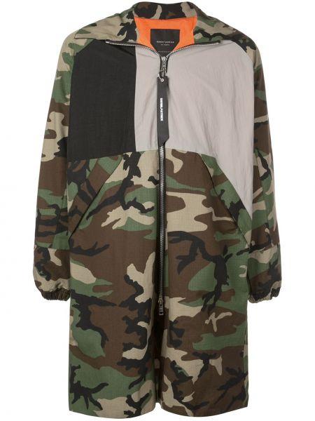 Куртка на молнии с манжетами с карманами в рубчик Daniel Patrick