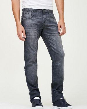 Прямые джинсы серые Whitney