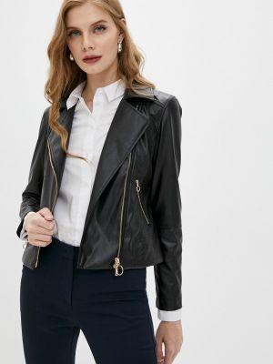 Кожаная куртка - черная Pennyblack