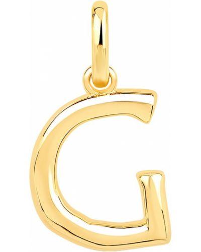 Золотая подвеска желтый серебряный Lav`z