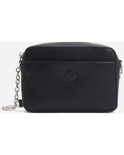 Кожаная сумка - черная Kazar