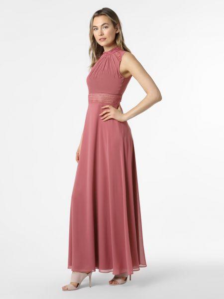 Różowa sukienka wieczorowa V.m.