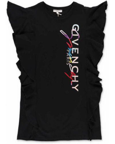 Czarna sukienka bawełniana Givenchy