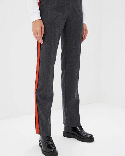Серые брюки прямые Pinko