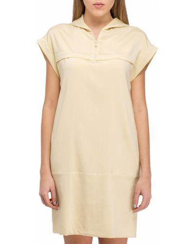 Желтое платье Brunello Cucinelli