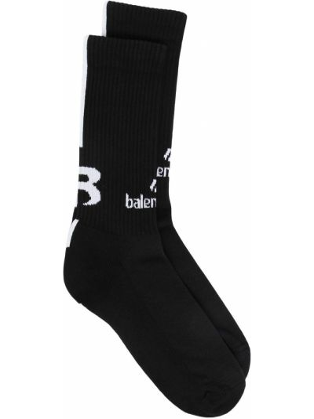 Czarny skarpety Balenciaga