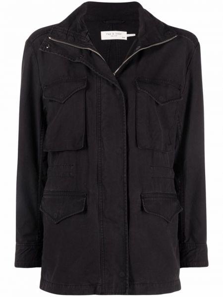 Черная куртка с воротником Rag & Bone