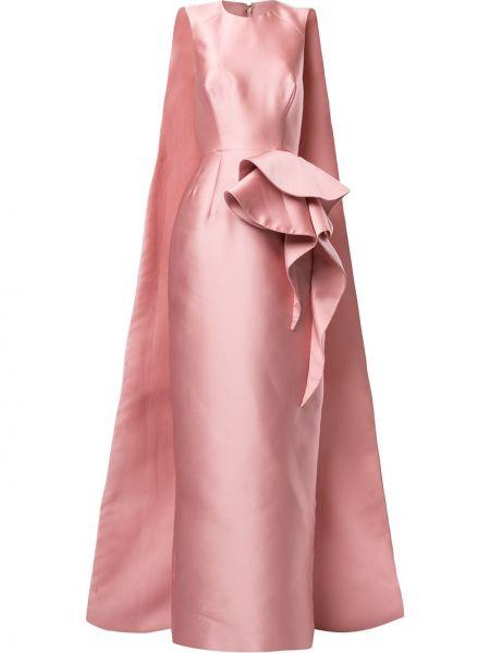 Прямое приталенное платье с оборками без рукавов Azzi & Osta