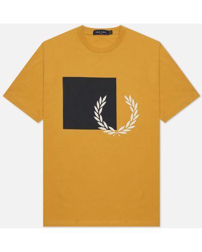 Хлопковая футболка Fred Perry