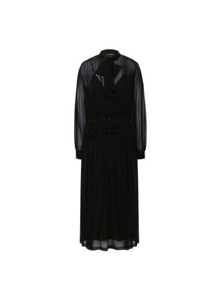 Платье шелковое Saint Laurent