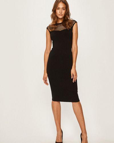 Трикотажное платье - черное Marciano Guess