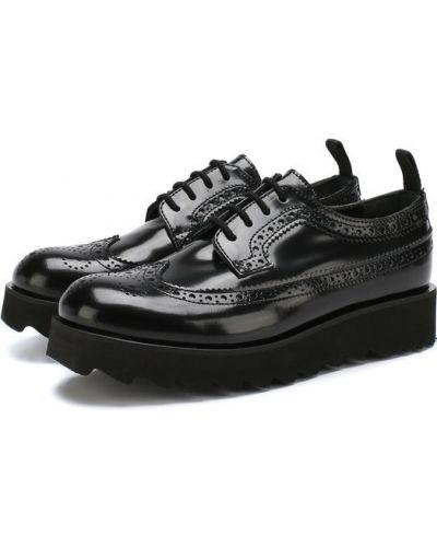 Туфли черные Dsquared2