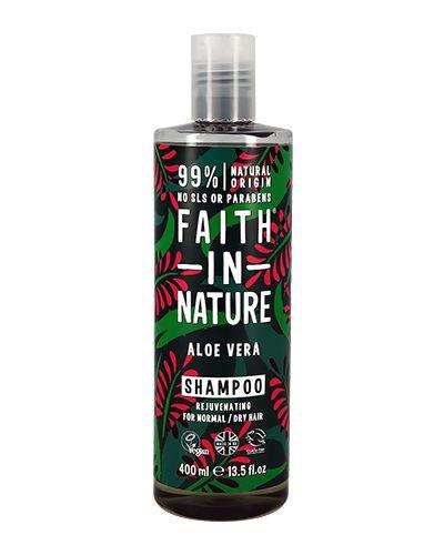 Шампунь для волос увлажняющий натуральная Faith In Nature