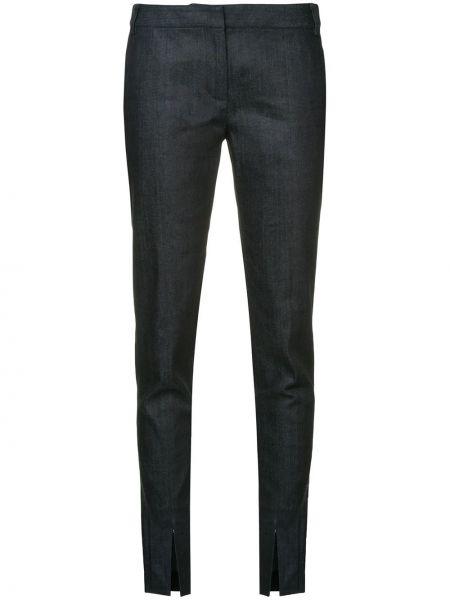Bawełna niebieski jeansy z kieszeniami Tibi